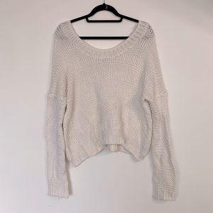 Carly Jean LA Knit Patterned Sweater